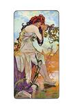 Summer, 1899 Giclee Print by Alphonse Mucha