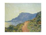 La Corniche Near Monaco, 1884 Giclee Print by Claude Monet