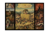 The Haywain (Triptyc), C. 1516 Giclee Print by Hieronymus Bosch