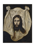 Holy Mandylion (The Vernicl), 1586-1595 Giclee Print by  El Greco
