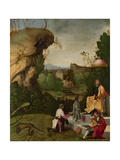 Homage to a Poet, Early16th C Giclee Print by  Giorgione