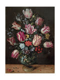 Vase with Tulips, 1620-1625 Giclee Print by Andries Daniels