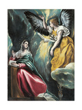 The Annunciation, 1595-1600 Giclee Print by  El Greco
