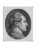Portrait of the Author Johann Wolfgang Von Goethe (1749-183) Giclee Print by Dora Stock