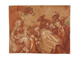 The Adoration of the Magi, 1624 Giclee Print by Abraham Bloemaert