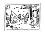 Measuring the Altitude of the Sun, 1539 Giclee Print