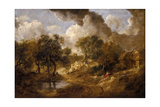 Landscape in Suffolk, Ca 1748 Giclee Print by Thomas Gainsborough