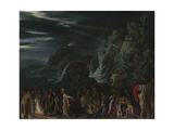 Saint Paul on Malta, Ca. 1600 Giclee Print by Adam Elsheimer
