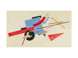Proun. Street Decoration Design, 1921 Giclee Print by El Lissitzky