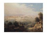 View of Jerusalem, 1821 Giclee Print by Maxim Nikiphorovich Vorobyev