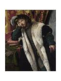 Portrait of a Young Man, C.1540 Giclee Print by Moretto Da Brescia