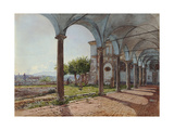 View from Sant'Onofrio on Rome, 1835 Giclee Print by Rudolf von Alt