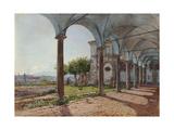 View from Sant'Onofrio on Rome, 1835 Giclee Print by Rudolf von Alt