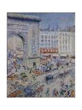 Paris, 1900s Giclee Print by Nikolai Alexandrovich Tarkhov