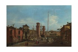 Venice, the Arsenal, 1755-1760 Giclee Print by Francesco Guardi