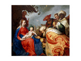 The Adoration of the Magi, 1624 Lámina giclée por Abraham Bloemaert