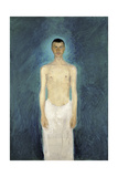 Semi-Nude Self-Portrait, 1904-1905 Giclee Print by Richard Gerstl