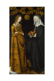 Saints Christina and Ottilia, 1506 Giclee Print by Lucas Cranach the Elder