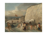 The Bathing Place at Ramsgate, Ca 1788 Giclee Print by Benjamin West