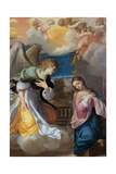 The Annunciation, 1603-1604 Giclee Print by Lodovico Carracci