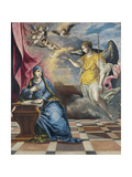 The Annunciation, Ca 1576 Giclee Print by  El Greco