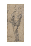 Standing Youth Holding a Book, Ca 1515 Giclee Print by  Andrea del Sarto