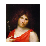 Young Man with Arrow, C. 1505 Giclee Print by  Giorgione