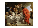 The Entombment of Christ, 1772 Giclée-tryk af Giandomenico Tiepolo