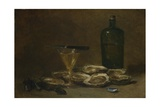 Still Life with Oysters, 1875-1877 Giclee Print by Philippe Rousseau