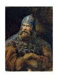 A Knight Giclee Print by Viktor Mikhaylovich Vasnetsov