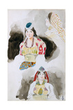 From the Moroccan Sketchbook, 1832 Giclee Print by Eugène Delacroix