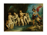 Diana and Actaeon, Ca 1604 Giclee Print by Giuseppe Cesari