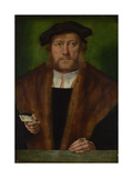 Portrait of a Man, Ca 1533-1534 Giclee Print by Bartholomaeus Bruyn