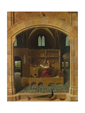 Saint Jerome in His Study, Ca 1475 Giclée-tryk af Antonello da Messina