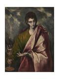 Saint John the Evangelist, C. 1605 Giclee Print by  El Greco