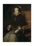 Portrait of Mary I of England, 1554 Giclee Print by Antonis Mor