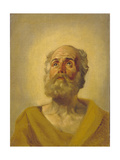 Apostle's Head, 1843-1847 Giclee Print by Karl Pavlovich Briullov