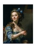 Self-Portrait, 1783 Giclee Print by Marie-Gabrielle Capet