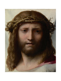 Head of Christ, 1525-1528 Giclee Print by  Correggio