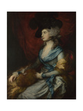 Portrait of Sarah Siddons, 1785 Giclee Print by Thomas Gainsborough