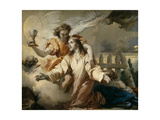 The Agony in the Garden, 1772 Giclee Print by Giandomenico Tiepolo