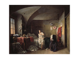 Morgen of a Tailor, 1855 Giclee Print by Dmitri Petrovich Volokhov