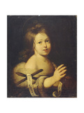 John the Baptist as Child Giclee Print by Bernardo Strozzi
