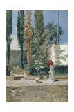Garden of the Fortuny's House, 1872 Giclee Print by Marià Fortuny