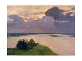 Over Eternal Peace, 1894 Giclee Print by Isaak Ilyich Levitan