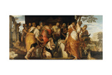 The Anointing of David, Ca 1555 Giclee Print by Paolo Veronese