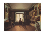 The Painter's Studio, 1820S Giclee Print by Nikita Zaytsev