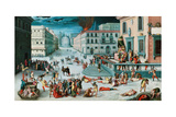 The Massacre of the Triumvirate Giclee Print by Antoine Caron