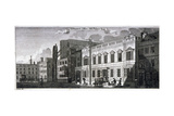 Ordnance Office for the Palace of Westminster, Old Palace Yard, Westminster, London, 1783 Giclee Print by John Carter
