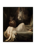 The Nightmare II, 1802 Giclee Print by Johann Heinrich Füssli